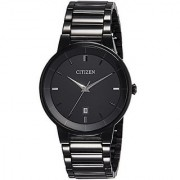 Citizen Quartz Black Round Men Watch BI5017-50E