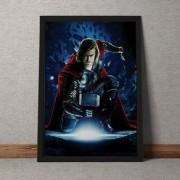 Quadro Decorativo Thor Marvel 35x25
