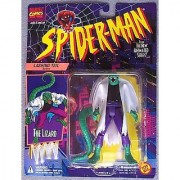 Spider-Man Animated Series:The Lizard Lashing Tail Action Figure (White Shirt)