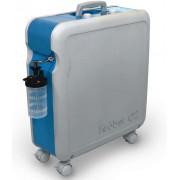 Concentrateur d'oxygène sur roulettes Kröber O2 - 1 à 6 L/min - Garantie 5 ans