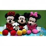 Disneys adorable Mickey with Pink Red Minnie Mouse Softr toys 29 Cms