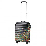 American Tourister - Palm Valley spinner equipaje de cabina, negro (pixel black), S