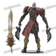 God of War 2 La figura de accion del PVC Display muneca de juguete