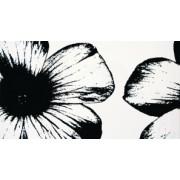 Dekor ścienny Tubądzin Colour Floral White 32,7x59,3