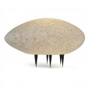 LIGHTCRAFT Shiny Nugget, lampă în formă de piatră, lampă de exterior, lampă de grădină, granit