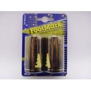 FootMark LR20 D baterii alcaline 1,5V blister 2