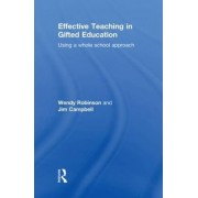 Effective Teaching in Gifted Education by Jim Campbell