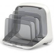 Fellowes Briefständer I-Spire, Kunststoff, weiß/grau
