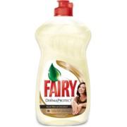 Detergent Lichid Spalat Vase Fairy Aloe Vera si Nuca Cocos 500ml Derma Protect