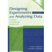 Designing Experiments and Analyzing Data by Scott E. Maxwell