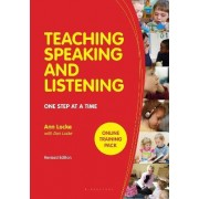 Teaching Speaking and Listening by Ann Locke