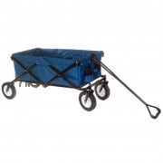 Outdoor Play Foldable Wagon Blue Steel 0737006