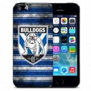 NRL Licensed Canterbury Bankstown Bulldogs Grunge Back Case for iPhone 5C