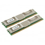 NONAME-CRUCIAL TECHNOLOGY 4GB KIT (2GBX2) DDR2 667MHZ-