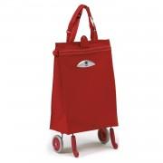 Gimi Brava húzós bevásárlótáska piros - 145028