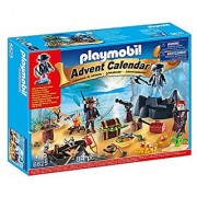 PLAYMOBIL Advent Calendar Pirate Treasure Island Playset