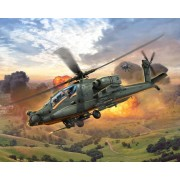 Revell AH-64A Apache 1:100 helikopter makett 4985