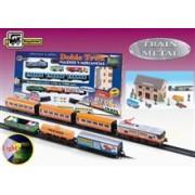 Trenulet Electric Calatori Si Marfa Doble Tren