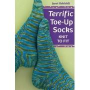 Terrific Toe-up Socks by Janet Rehfeldt