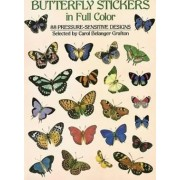 Butterfly Stickers in Full Color by Carol Belanger Grafton
