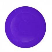 GSI Blue Frisbee designed to catch wind for longer flight and cool outdoor family fun