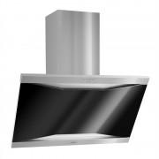 KLARSTEIN MASUR COOKER абсорбатор неръждаема стомана 90 CM стенен монтаж 590 M³ / ч стъкло (TK15-Masur)
