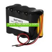 Pack de baterías 9,6V/1000mAh Ni-Cd