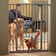 Savic Dog Barrier hundgrind med kattdrr - Frlngningsdel: H 107 x B 7 cm