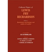 The Collected Papers of Lewis Fry Richardson: Vol. 2 by Oliver M. Ashford