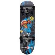 Skateboard Black Hole Move: Graffity 79 cm/ABEC7