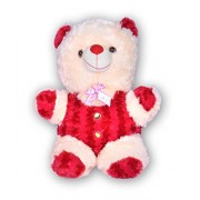 Shopsmeade Cute Red Teddy Soft Toys 45 cm | Kids Girls Boys Child Toys | Gifts for Boyfriend Girlfriend Fiance Spouse Friends Him Her Men Girl Birthday Anniversary Everyday Gift Soft Toys | Plush Toys | Animal Soft Toys