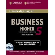 Cambridge English Business 5 Higher Self-study Pack (student's Book with Answers and Audio CD) by Cambridge ESOL