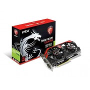 MSI Nvidia GeForce GTX 750Ti TF 2GD5/OC Scheda Video, Nero