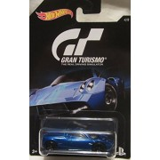 2016 Hot Wheels GRAN TURISMO PAGANI HUAYRA Limited Edition 1:64 Scale Collectible Die Cast Metal Toy Car Model!