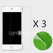 (3 stuks) high definition screen protector flim voor ipod touch 6