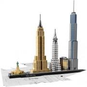 Lego Architecture 21028 New York City - Gwarancja terminu lub 50 zł! BEZPŁATNY ODBIÓR: WROCŁAW!