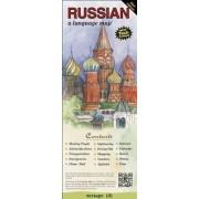 Russian a Language Map by Kristine K. Kershul