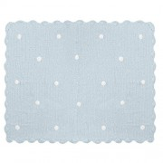 Lorena Canals MGC2 Crochet Blanket Galleta Blue/Blu