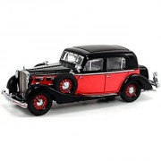 1935 Maybach SW35 Spohn Black & Red - Signature Models 43702 - 1/43 Scale Diecast Model Toy Car