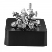 Creative Magnetic Screws & Nuts Building Educational Toy / Desk Table Decoration - Black + Silver