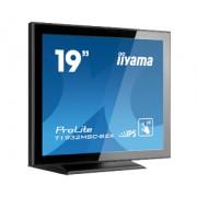 iiyama ProLite T1932MSC-B2X 19' LED IPS LCD PCAP Frameless 10P Touch 1280x1024 spk VGA DVI 225cd/m² 1000:1 USB int. PSU VESA 100 Multitouch with supported OS