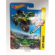Hot Wheels Extreme Shoxx Off-road Green RIP Shredder Desert Sand Buggy