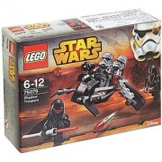 LEGO 75079 Star Wars Shadow Troopers Bundle with Rare Darth Vader Lightsaber Bubbles and Collectible Stickers