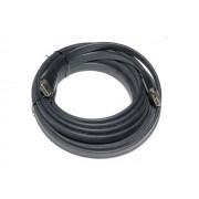 Valueline CABLE-550G/5.0 HDMI-HDMI v1.2 összekötő kábel 5m - aranyozott