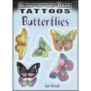 Glow-in-the-Dark Tattoos: Butterflies by Jan Sovak