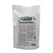 Servetele umede dezinfectante, 130 x 200mm, 120 buc/pack, Destix MA61 - refill pack
