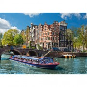 PUZZLE TURUL CANALULUI IN AMSTERDAM, 1000 PIESE (RVSPA19138)