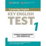 Cambridge Key English Test 1 Student Book by Cambridge ESOL