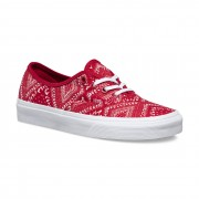 Shoes Vans Authentic Ditsy Bandana Chili Pepper