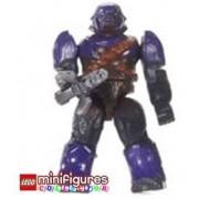 Mega Bloks HALO Morado Covenant Brute Minifigure & Arma - Serie 2